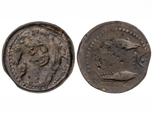 MONEDAS HISPÁNICAS. As. 150-50 a.C. KETOVION (ALCÁCER DO SAL