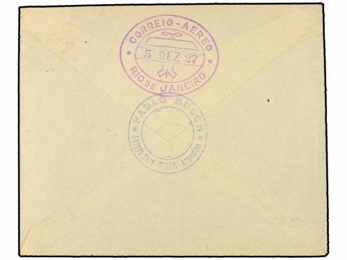 ✉ ARGENTINA. 1927 (30 Noviembre). BUENOS AIRES a RIO DE JANE
