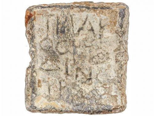 MONEDAS BIZANTINAS. Ponderal de plomo. Siglos V-VII. THAK OC