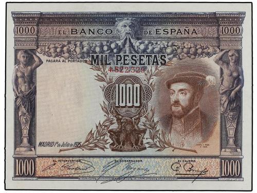 GUERRA CIVIL, ZONA REPUBLICANA. 1.000 Pesetas. 1 Julio 1925.