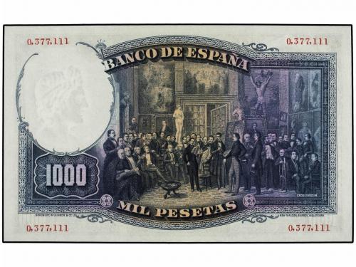 GUERRA CIVIL, ZONA REPUBLICANA. Lote 2 billetes 1.000 Peseta