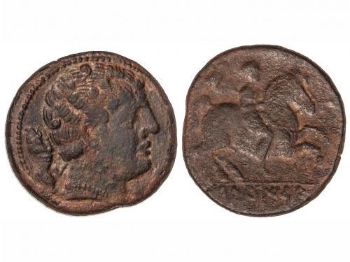 MONEDAS HISPÁNICAS. As. 120-20 a.C. SECAISA (BELMONTE, Zarag