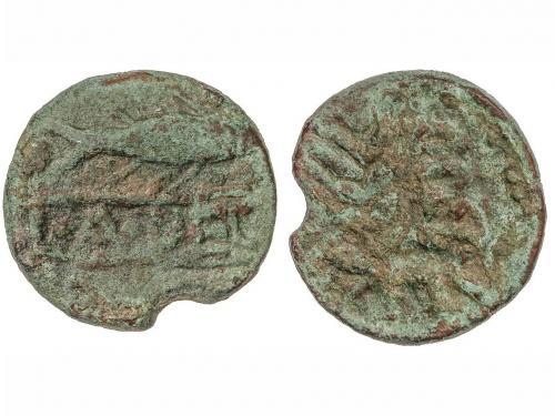 MONEDAS HISPÁNICAS. As. 120-50 a.C. MIRTILES (MÉRTOLA, Portu