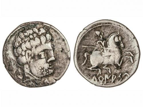 MONEDAS HISPÁNICAS. Denario. 120-20 a.C. TURIASU (TARAZONA,