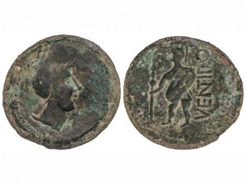 MONEDAS HISPÁNICAS. As. 150-50 a.C. VENTIPO (CASARICHE, Sevi