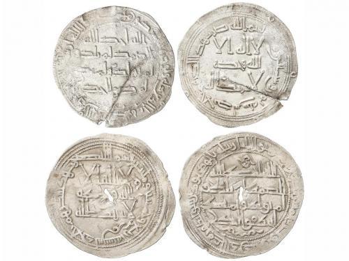 EMIRATO. Lote 2 monedas Dirham. 168H Y 254H. ABDERRAHMÁN I y