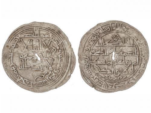 EMIRATO. Dirham. 254H. MUHAMMAD I. AL-ANDALUS. 2,52 grs. AR.