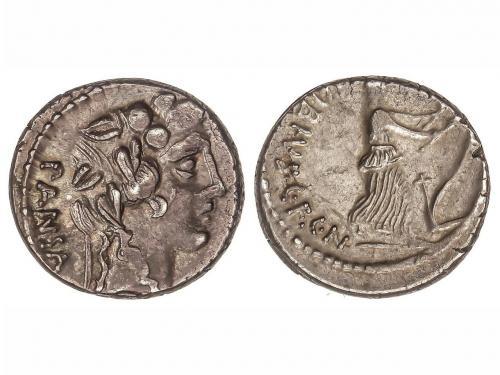 REPÚBLICA ROMANA. Denario. 48 a.C. VIBIA-16. C. Vibius C.f.C