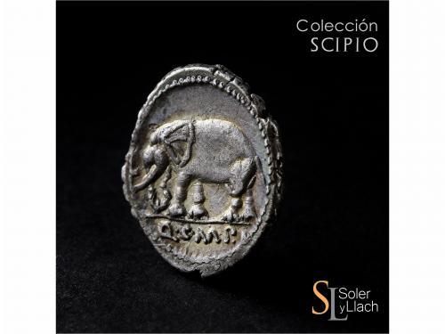 REPÚBLICA ROMANA. Denario. 81 a.C. CAECILIA. Q. Caecilius Me
