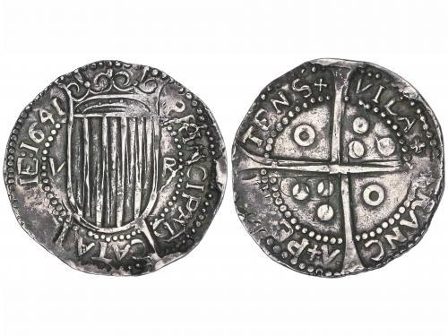 GUERRA DELS SEGADORS. 5 Rals. 1641. PRINCIPAT. VILAFRANCA DE