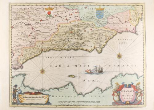 1647 ca. LIBRO. (ATLAS-BLAEU). BLAEU, IOHANNEM:. VOL. FACTIC